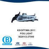 KIA K5 Optima luz de nevoeiro, fabricante de peças de automóvel