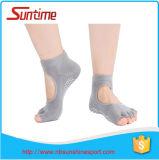 Chaussettes chaudes de yoga d'exercice de forme physique, non chaussettes de yoga de glissade