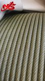 De kabelbaan Gegalvaniseerde Kabel van het Staal 17X7