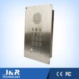 Las manos liberan el teléfono analogico para el sitio limpio, teléfono de Dail de la velocidad