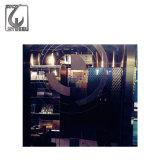 Spiegel-Edelstahl-Blatt des Höhenruder-dekorativen Ti-201 304 goldenes