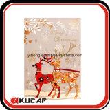 Toma de saludo personalizado tarjetas de Navidad