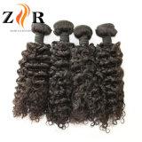 Weave frouxo do cabelo humano do estilo da onda do cabelo brasileiro por atacado do Virgin