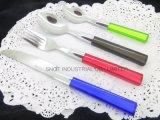 Plastikgriff-Tischbesteck-/Besteck-/Messer-Gabel-Löffel