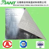 Lado único filme de alumínio revestido a PE Tecidos para isolamento térmico de edifícios