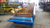 Rodillo del azulejo de azotea del acero de hoja de la azotea del metal del precio bajo de los fabricantes de China que forma la máquina