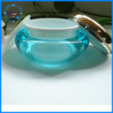 Vaso de acrílico de plástico de alto nível para produtos cosméticos