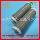 Flexible cable blindado de caucho de silicona en frío Tubería del encogimiento