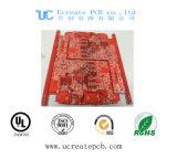 Fr4 rojo de circuito impreso PCB con alta calidad
