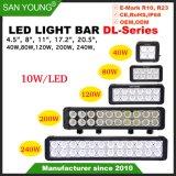 Double rangée de LED CREE Barre d'éclairage lumière voiture 40W 80W 120W 200W 240W Offroad barre lumineuse à LED