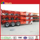 3 ESSIEUX 40FT Container Transport squelette Semi-Trailer du châssis