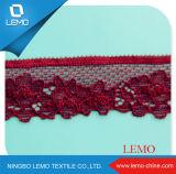 Новая конструкция Raschel вязки кружевной ткани Эластичные кружева вязания Tricot