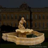 Het openlucht Beeldhouwwerk van de Fontein van de Steen van de Tuin Hand Gesneden Middelgrote Marmeren