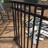 Высокомарочный алюминий/стальной плавательный бассеин плоской верхней части ограждая для фабрики