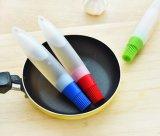Huile de Silicone de forme de plume d'une brosse de nettoyage/grillage