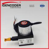 CNC Sensor van de Codeur van de Codeur van het Handwiel van de Aandrijving van de Machine 10/100PPR de Lange Hand Roterende