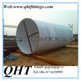 Tube Spiral SSAW Tubo de aço soldado em espiral para óleo