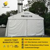 De gebruikte Witte Tent van de Partij van het Geteerde zeildoek van pvc