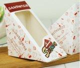 삼각형 Windows 샌드위치 포장 상자