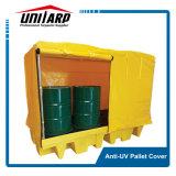 Wasserdichter Belüftung-mehrfachverwendbarer Ladeplatten-Plastikdeckel mit Reißverschlüssen