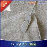 Manta elétrica de lã sintética confortável com quatro configurações de calor