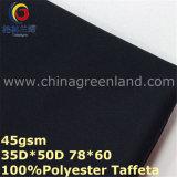 Tessuto di tintura del tessuto di seta naturale della saia del poliestere per la camicia degli uomini (GLLML325)