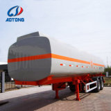 China Fabricación 45000 litros Tanque de combustible/semi remolque cisterna