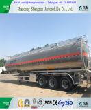 3 asse Llight/rimorchio resistente del serbatoio del combustibile/benzina/benzina della petroliera della lega di alluminio