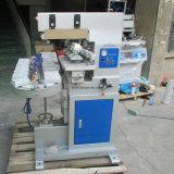 TM-C4-P 4 de plástico de color, máquina de tampografía con cinta transportadora