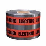 高力BOPP/Al/PEの地下の探索可能なマーキングの注意テープ