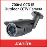 700TVL Sony CCD impermeable lente fija de viñeta de infrarrojos de la cámara de seguridad