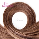 K. S Perucas New Arrival Micro Ring Hair Easy Ring Keratin Extensão do cabelo humano