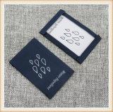 Soem-Kleid gesponnener Stutzen-Kennsatz mit Ihrem Firmenzeichen