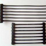 Negro de alta resistencia Geogrid plástico uniaxial de la fuerza de la fábrica para el camino