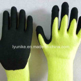 Сад с покрытием из пеноматериала из латекса безопасности рабочие перчатки