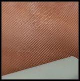 Couro Sintético PU de 1,2 mm para Calçados, Calçado