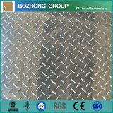 Plat antidérapage en aluminium des prix concurrentiels 6061 de bonne qualité