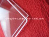 Glace de quartz transparent de grande pureté