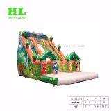 Новый двойной Lane надувные скалолазание и сдвиньте для детей