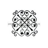鋼鉄塀のロゼット11031の錬鉄のゲートの花のパネル