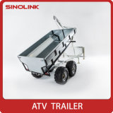 ATV UTV에 의하여 거치되는 실용적인 큰 트레일러