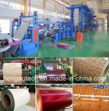 L'alluminio arrotola la riga di rivestimento di colore, macchina di rivestimento di colore