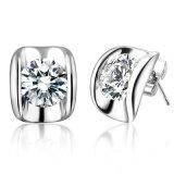 Jewellery серег венчания стержня самого лучшего качества одиночный каменный