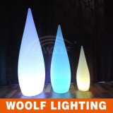 Lámpara de gota de agua luces de decoración LED luces de decoración de jardín