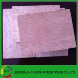 Madera contrachapada de Keruing de la base de la madera dura