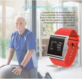 Le bracelet intelligent d'écran tactile avec la fréquence cardiaque et les IP67 imperméabilisent X9plus