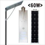 60W tutto in un indicatore luminoso di via solare Integrated del LED Luminarias