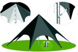 Farbe angepasst, Stern-Zelt, Stern-Festzelt, Stern-Farbton-Zelt bekanntmachend mit Drucken