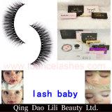 Oferta Especial 3D de seda premium falso Eyelash sintético com caixa de Marca Própria