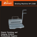 HP-2308 두 배 철사 /Hard 플라스틱 반지 책 의무 기계